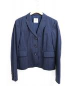 MOSCHINO(モスキーノ)の古着「セットアップスーツ」 ネイビー