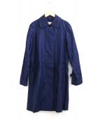 Traditional Weatherwear(トラディショナル ウェザーウェア)の古着「リネンコート」|ネイビー