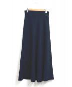 Deuxieme Classe(ドゥーズィエムクラス)の古着「ニットフレアースカート」|ネイビー