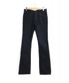 ISAMU KATAYAMA BACKLASH(イサムカタヤマバックラッシュ)の古着「リザードポケットカラージーンズ」|ブラック
