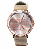 ALLY DENOVO(アリーデノヴォ)の古着「腕時計」