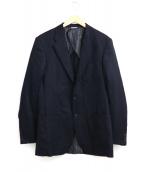 KENNETH FIELD(ケネスフィールド)の古着「2Bウールジャケット」|ネイビー