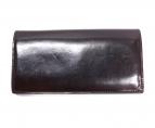 GANZO(ガンゾ)の古着「シェルコードバン長財布」|ブラウン