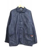 KENNETH FIELD(ケネスフィールド)の古着「デニムワークジャケット」|インディゴ