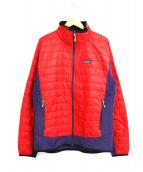 Patagonia(パタゴニア)の古着「ナノパフハイブリットジャケット」|レッド
