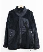 F/CE.(エフシーイー)の古着「ポーラテックフリースジップアップジャケット」|ブラック