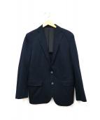 JOSEPH HOMME(ジョセフオム)の古着「背抜きテーラードジャケット」|ネイビー