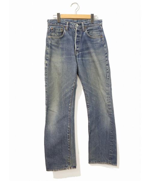 LEVIS(リーバイス)LEVIS (リーバイス) [古着]ヴィンテージ デニム パンツ インディゴ サイズ:不明(W29相当) ボタン裏6・Vステッチ・ビッグE前期の古着・服飾アイテム