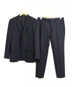 JOSEPH HOMME(ジョセフオム)の古着「2Bセットアップスーツ」|ブラック