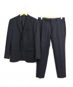 JOSEPH HOMME()の古着「2Bセットアップスーツ」|ブラック