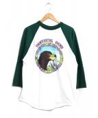 バンドTシャツ(バンドTシャツ)の古着「 [古着]80s GRATEFUL DEAD バンドTシャツ」|グリーン×ホワイト