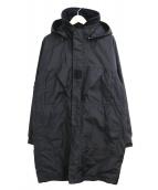 C.P COMPANY(シーピーカンパニー)の古着「フーデッドフィールドジャケット」|ブラック