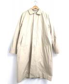 YAECA(ヤエカ)の古着「中綿ステンカラーコート」|ベージュ