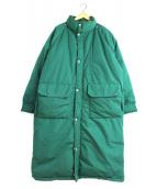 POLO RALPH LAUREN(ポロラルフローレン)の古着「[古着]ヴィンテージダックダウンコート」|グリーン