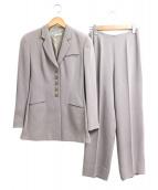 EMPORIO ARMANI(エンポリオアルマーニ)の古着「[OLD]セットアップフレアパンツスーツ」|グレー