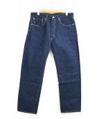 Levi's VINTAGE CLOTHING(リーバイスヴィンテージクロージング)の古着「501XX復刻レプリカデニムパンツ」 インディゴ