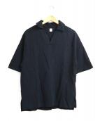 KAPTAIN SUNSHINE(キャプテン サンシャイン)の古着「和紙スキッパーシャツ」|ブラック