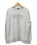 UNDERCOVER(アンダーカバー)の古着「ロゴプリントスウェット」|グレー