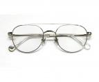 VIKTOR&ROLF(ヴィクターアンドロルフ)の古着「伊達眼鏡」 シルバー