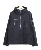MAMMUT(マムート)の古着「マサオハードシェルフーデッドジャケット」|ブラック