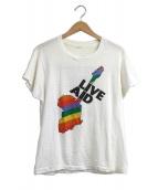VINTAGE(ヴィンテージ)の古着「[古着]80'S フェスTシャツ」|ホワイト