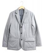 301(トレチェントウノ)の古着「ダウンライニングテーラードジャケット」|グレー