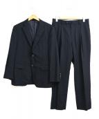 DURBAN(ダーバン)の古着「セットアップ2Bスーツ」|ブラック