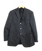DURBAN(ダーバン)の古着「ウールテーラードジャケット」|チャコールグレー
