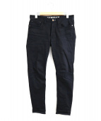 Denham(デンハム)の古着「スキニーフィットデニムパンツ」 ブラック