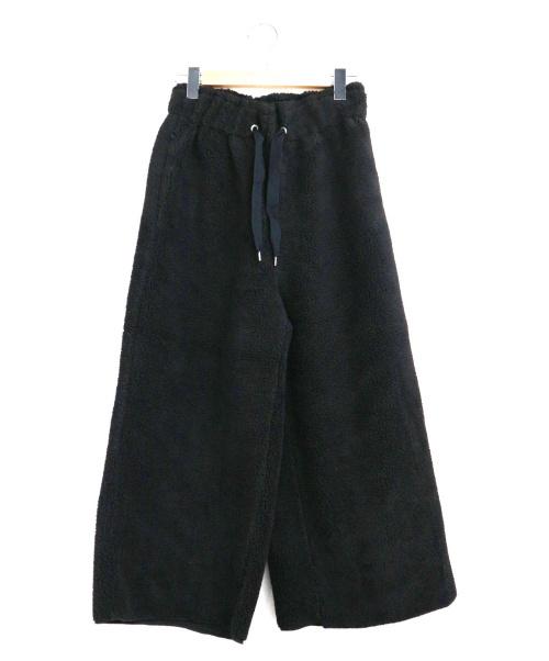 JOHNBULL(ジョンブル)Johnbull (ジョンブル) フリースワイドパンツ ブラック サイズ:SIZE Sの古着・服飾アイテム