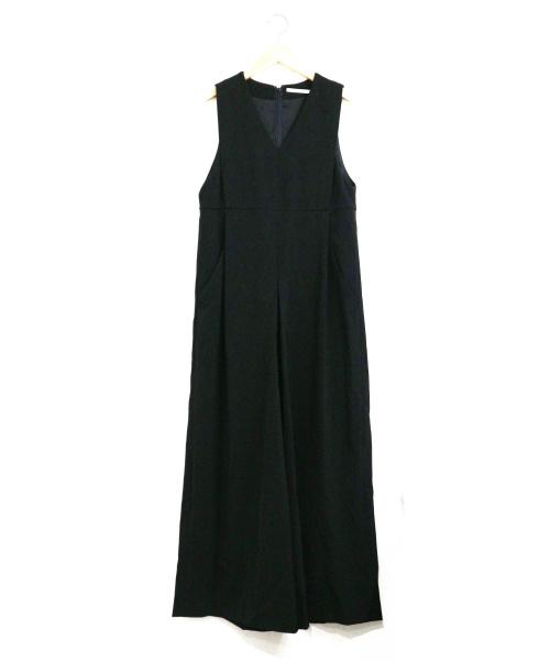 JOHNBULL(ジョンブル)Johnbull (ジョンブル) タックコンビネゾン ブラック サイズ:Mの古着・服飾アイテム