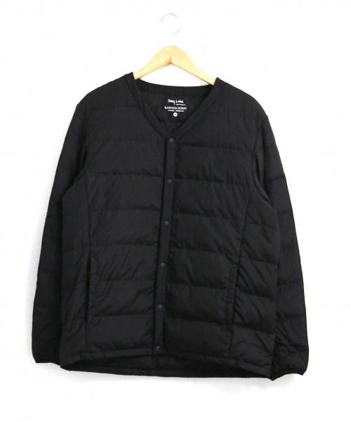 Sonny Label(サニーレーベル)Sonny Label (サニーレーベル) 河田フェザー撥水インナーダウン ブラック サイズ:Mの古着・服飾アイテム