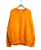 NIKELAB(ナイキラボ)の古着「クルーネックスウェット」 オレンジ