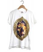 Vivienne Westwood(ヴィヴィアンウエストウッド)の古着「プッティ額縁プリントTシャツ」|ホワイト