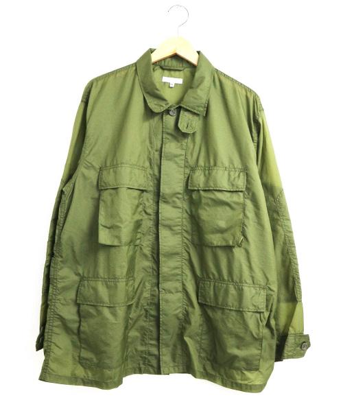 Engineered Garments(エンジニアードガーメンツ)Engineered Garments (エンジニアードガーメンツ) ナイロンマイクロリップストップBDUジャケット カーキ サイズ:M 19SS BDU Jacket - Nylon Micro Ripstopの古着・服飾アイテム