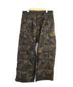 ts(s)(ティーエスエス)の古着「リアルツリーカモハンティングパンツ」|ブラウン