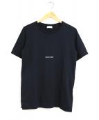 Saint Laurent Paris(サンローランパリ)の古着「クラシックスモールロゴTシャツ」|ブラック