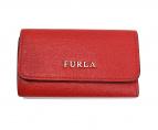 FURLA(フルラ)の古着「レザーキーケース」|レッド
