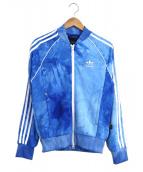 adidas×PHARRELL WILLIAMS(アディダス×ファレルウィリアムス)の古着「トラックジャケット」|ブルー