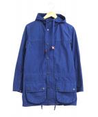Barbour(バブアー)の古着「フーデッドビデイルジャケット」|ブルー