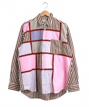 COMME des GARCONS SHIRT [OLD]パッチワークシャツ