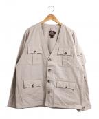 MOJITO×Willes&Geiger(モヒート×ウィリスアンドガイガー)の古着「別注ブッシュジャケット」|ベージュ