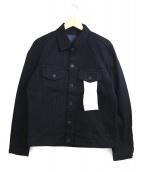 Johnbull(ジョンブル)の古着「フレックスジーンジャケット」|ブラック
