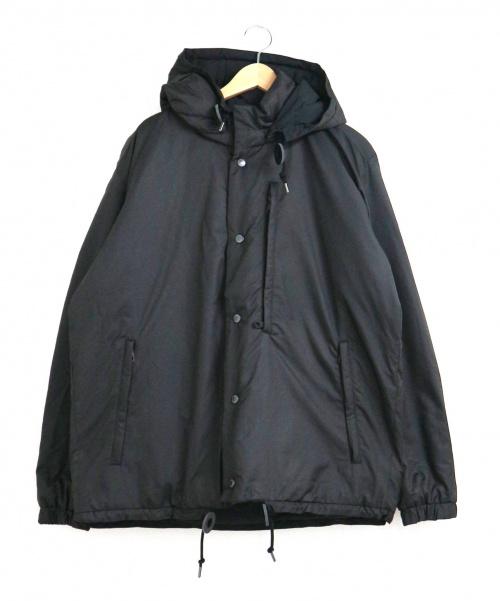 Johnbull(ジョンブル)Johnbull (ジョンブル) リバーシブルダウンジャケット ブラック サイズ:L 未使用品 16653の古着・服飾アイテム