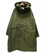 Johnbull(ジョンブル)の古着「M-65モッズコート」 カーキ