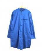 JOHNBULL(ジョンブル)の古着「ソロテックスシャツコート」|ブルー