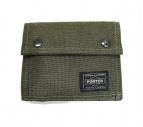 PORTER(ポーター)の古着「2つ折り財布」|オリーブ