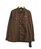 NEIGHBORHOOD(ネイバーフッド)の古着「クラシックワークシャツ」|ブラウン