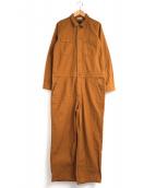 ()の古着「アーミーオールインワン」|ブラウン