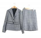 Reflect(リフレクト)の古着「ツイードセットアップスーツ」|グレー